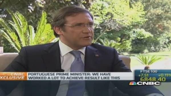 No risk of fiscal 'irresponsibility': Portuguese PM