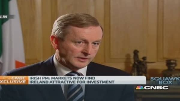 Ireland regained market credibility: Taoiseach
