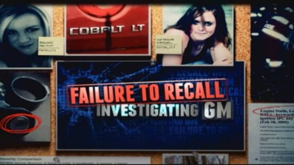 Failure to recall: Investigating GM