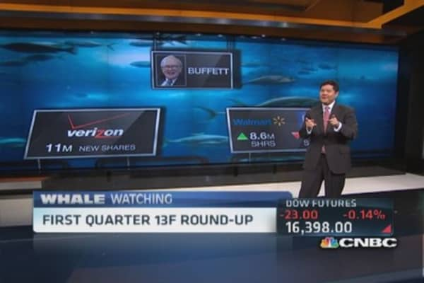 Q1 13F round up: Berkshire, Third Point & more