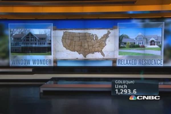 Million dollar home showdown: Window Wonder vs. Relaxed Residence