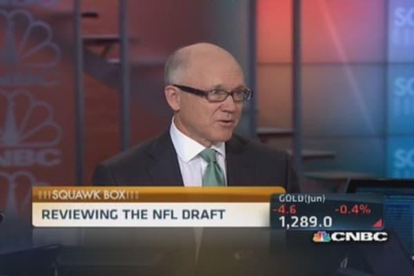 Jet's Johnson on draft strategy