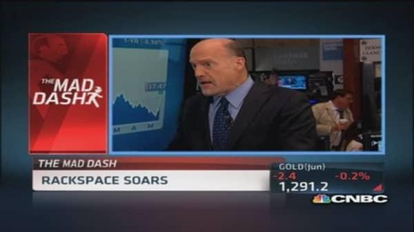 Cramer's Mad Dash: Shocked by RAX