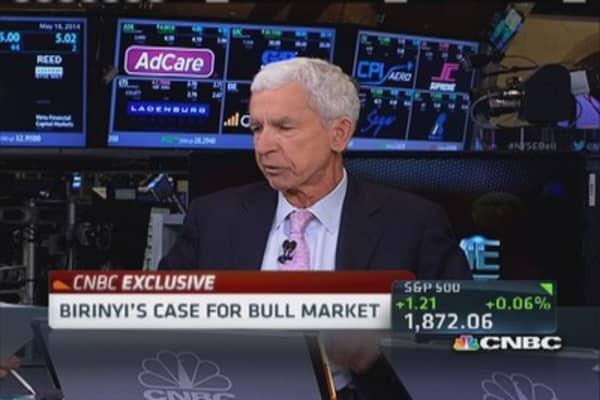 Laszlo Birinyi sorts through 'noisy market'