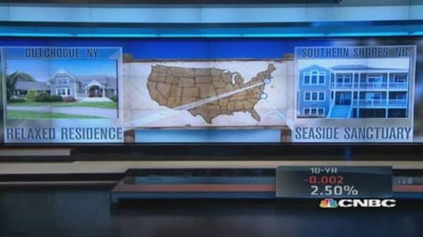Summer showdown: Relaxed Residence vs. Seaside Sanctuary