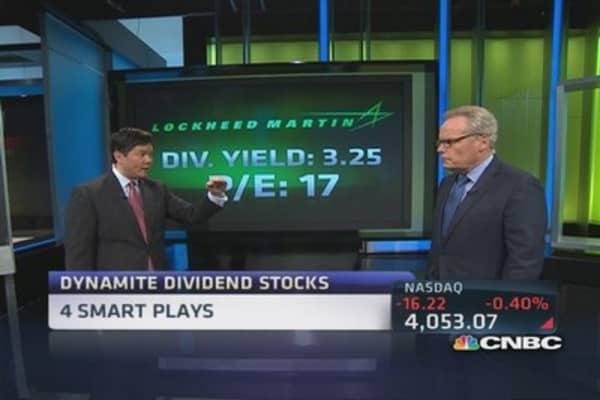 Dynamite dividend stocks