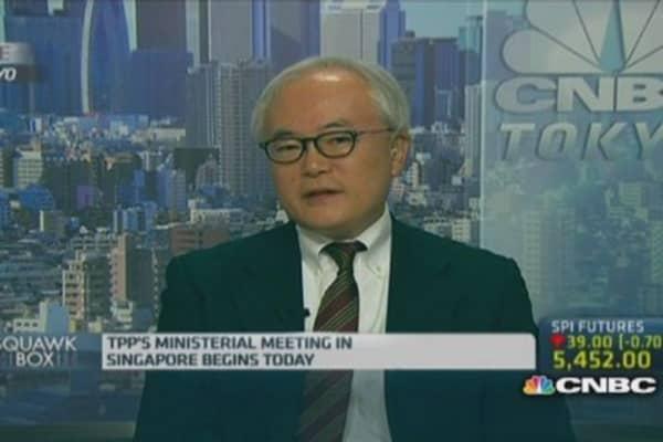 Optimistic on TPP: Shinzo Abe advisor