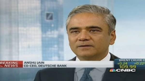 'Tectonic' shift in European banking: Deutsche Bank