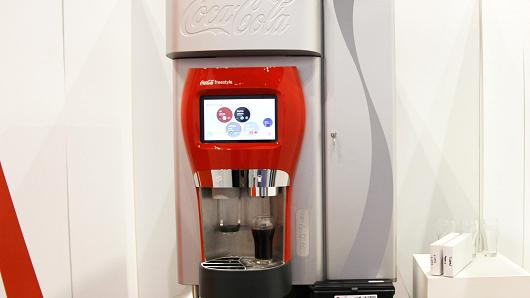 Coca-Cola Freestyle machine.