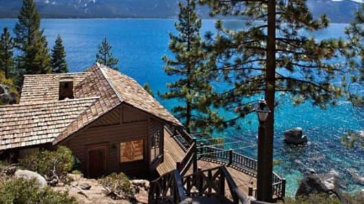 Howard Hughes former Lake Tahoe estate.