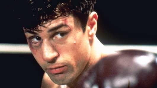 """Robert De Niro in """"Raging Bull"""""""