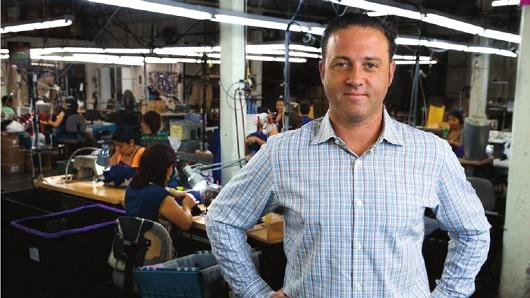 Mitch Cahn is president of Unionwear, an apparel and accessories maker based in Newark, New Jersey.