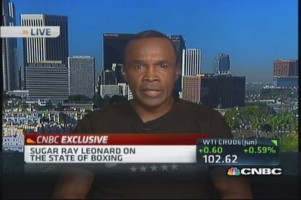 Sugar Ray Leonard: Boxing needs jolt of electricity