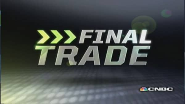Fast Money Final Trade: DB, SBUX, CXW, ANF