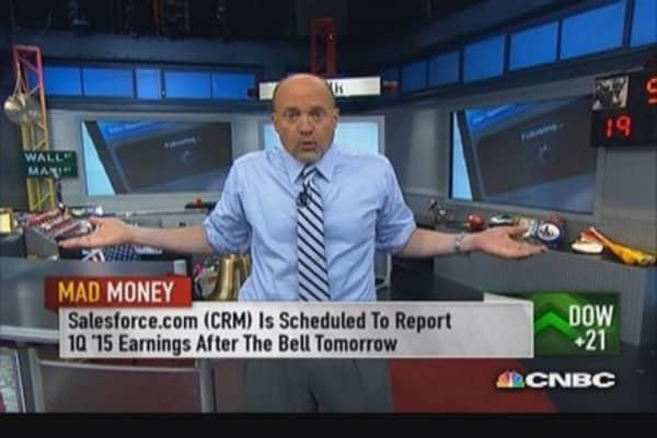 Stock value goes a long way: Cramer