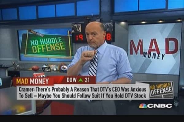 Sell if you own DirecTV: Cramer