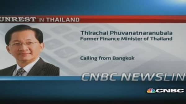 Thailand is nowhere near a coup: Former fin min