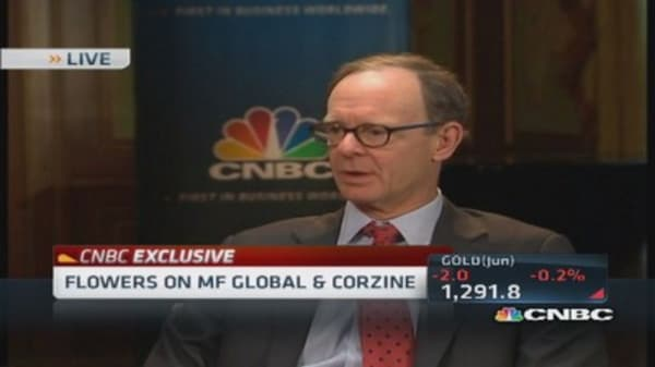 Flowers on MF Global & Corzine