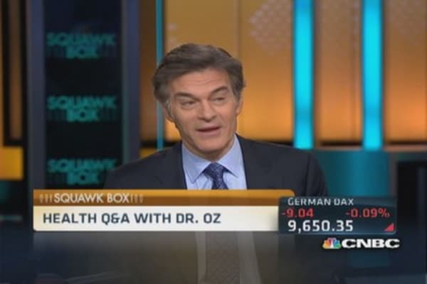 A day in the life of Dr. Oz