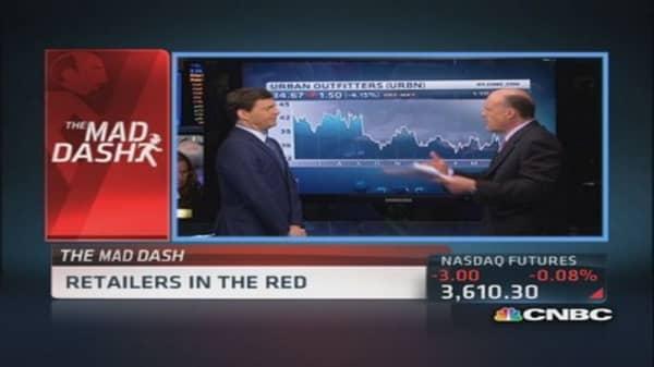 Cramer's Mad Dash: Be careful URBN