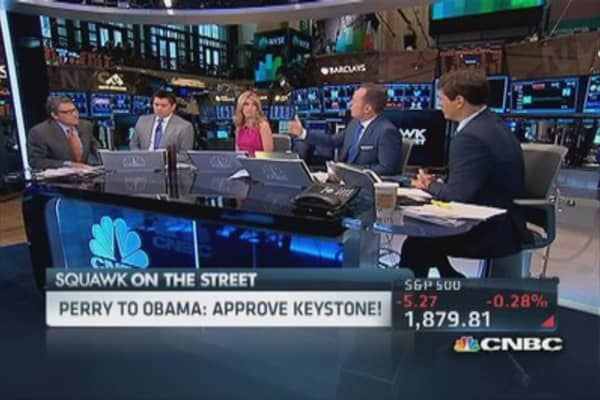 Gov. Rick Perry: Steel hammer of EPA killing jobs