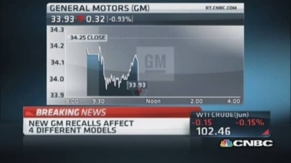 More GM recalls today