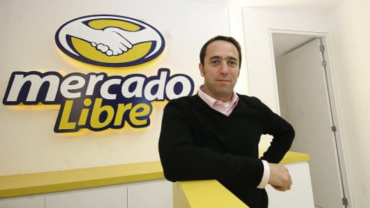 Marcos Galperin, founder of e-commerce website MercadoLibre believes in taking risks.