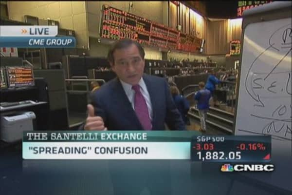 Santelli Exchange: 'Spreading' confusion