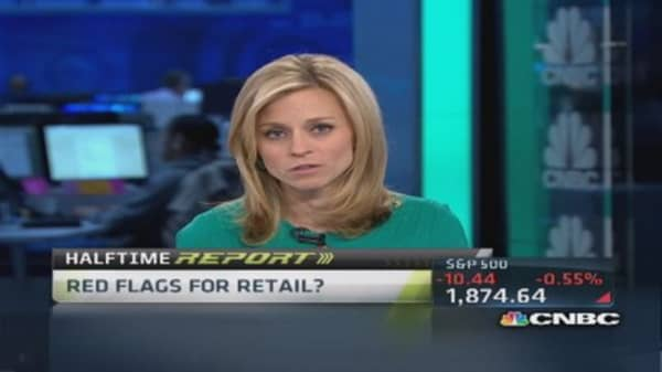 Disappointing retail roundup