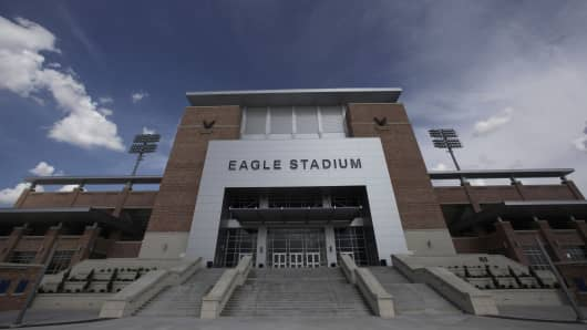 The $60 million high school stadium that got national attention for its grandeur _ and its price tag _ will be shut down indefinitely just 18 months after its opening, North Texas school district officials said Thursday, Feb. 27, 2014, for an examination of cracking in the concrete of the stadium's concourse.