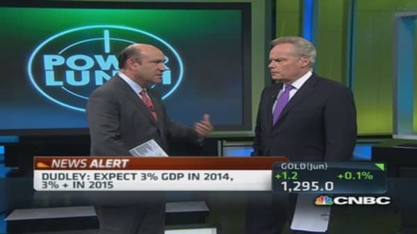 Fed's Dudley: Lower rates, long term