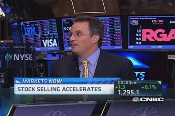 Market worries right now