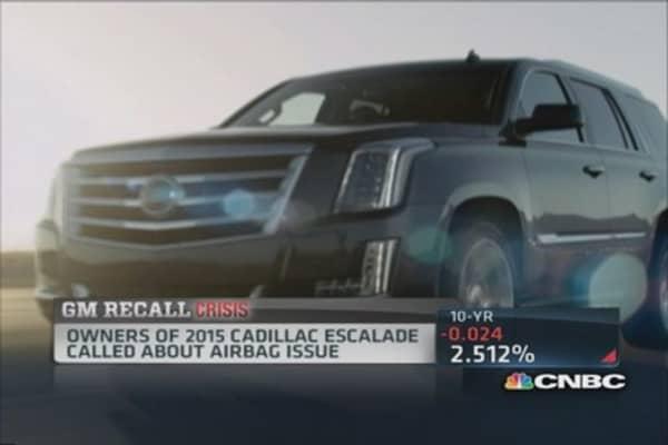 Series of GM recalls