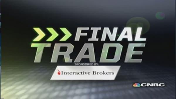 Fast Money Final Trade: P, TSLA, SDS, NEM