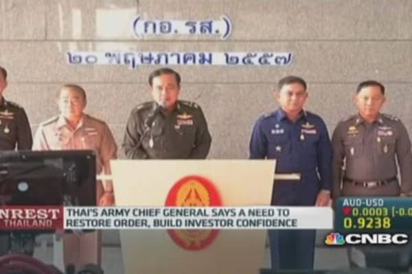 Army is Thailand's only real cohesive force: Pro