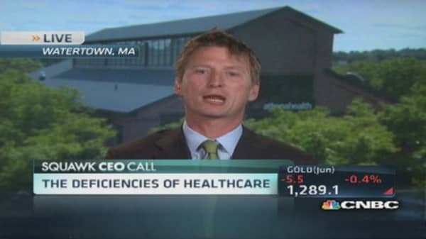 Athenaheath CEO on improving Obamacare