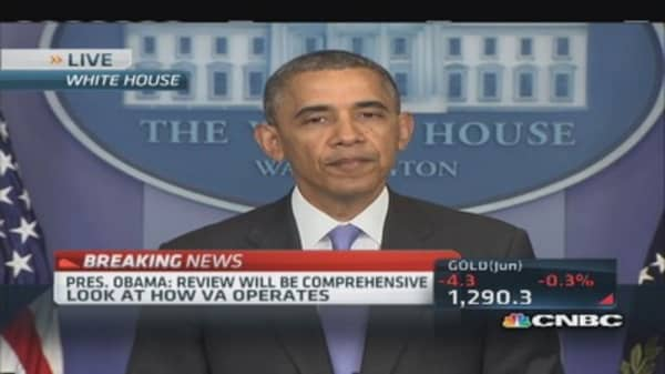 Pres. Obama: Full VA investigation underway
