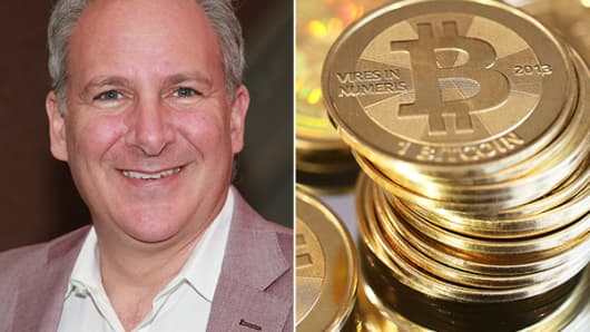 Peter Schiff and bitcoins