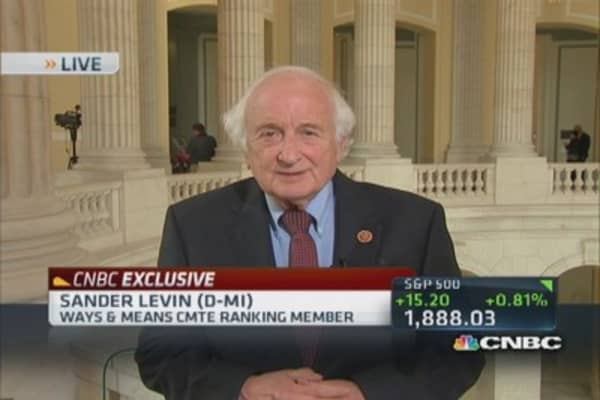 New tax bill much like Obama's proposal: Rep. Levin
