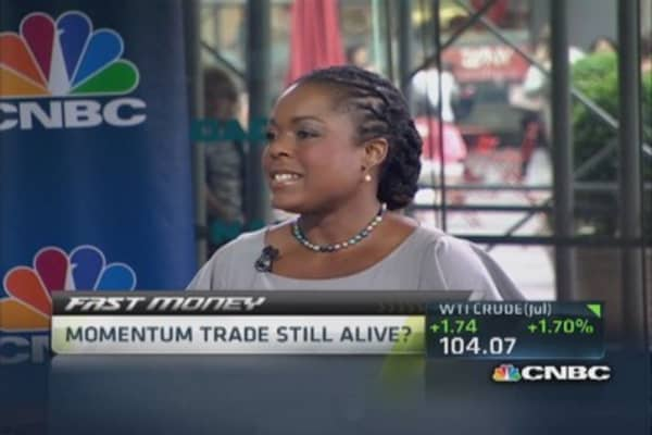 Momentum trades alive: ARCB, UTHR