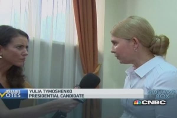 Ukraine must join EU and NATO: Tymoshenko