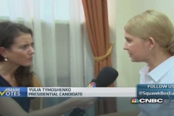 West must sanction Russia further: Tymoshenko