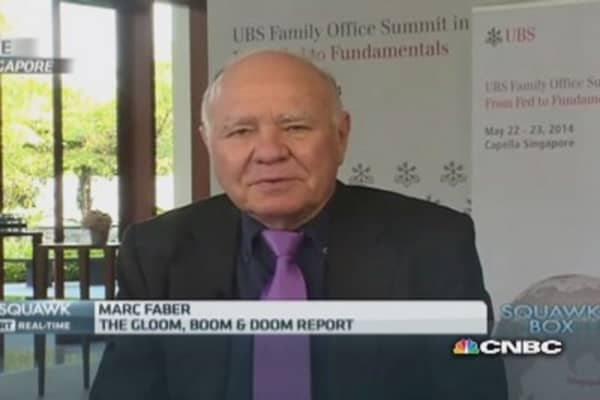 Hold Treasurys despite low yields: Marc Faber