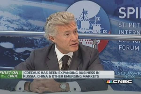 Western CEOs should attend SPIEF: JCDecaux CEO