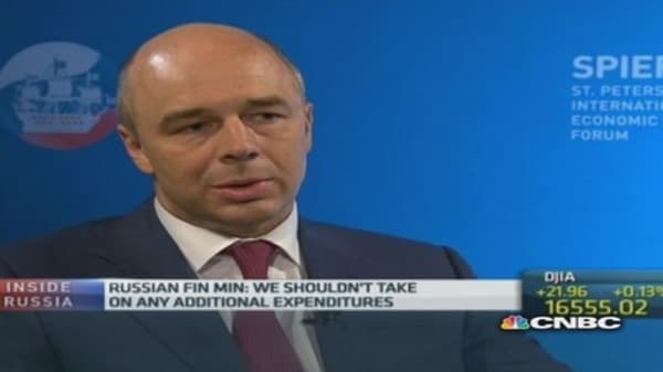 We shouldn't hike spending: Russia Fin Min