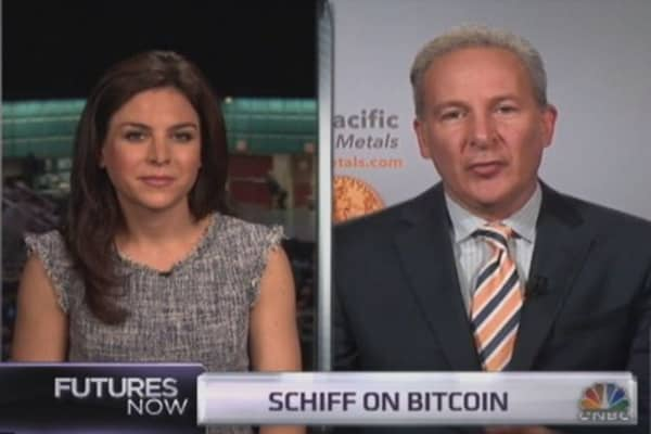 Peter Schiff's full take on bitcoin and gold