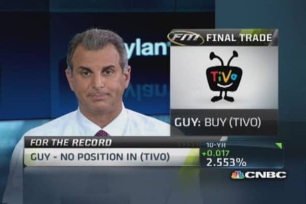 Fast Money Final Trade: POT, CTRL, PLCE, TIVO