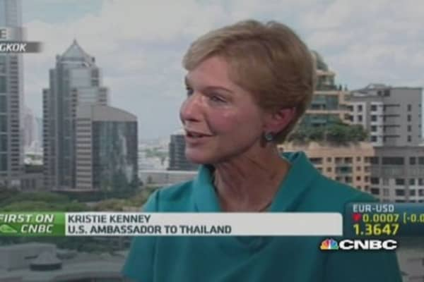 US ambassador: Coup is a 'setback' to US-Thailand ties