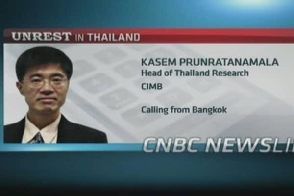 Thai stock selloff was worse than expected: CIMB