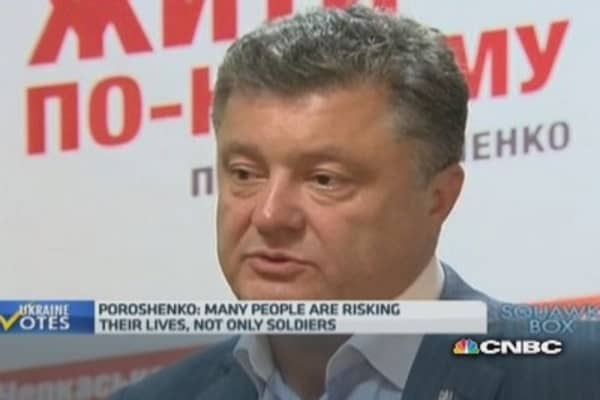 Russia is unpredictable: Poroshenko